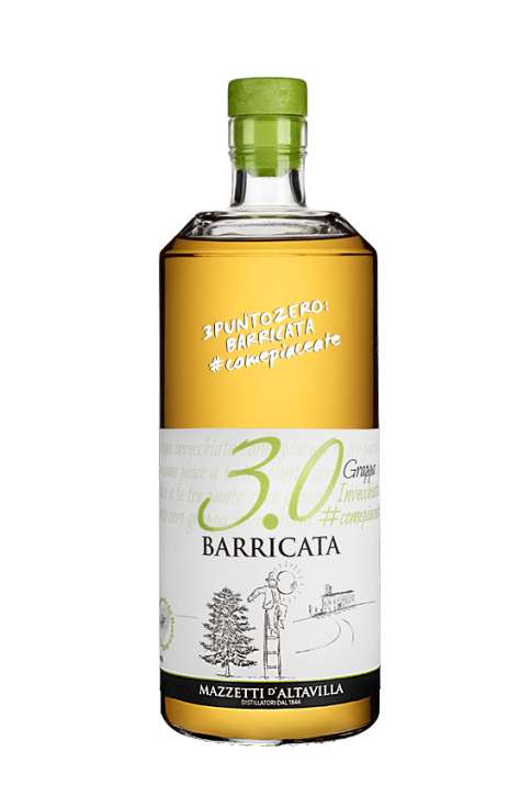 3.0 grappa barricata 700ml