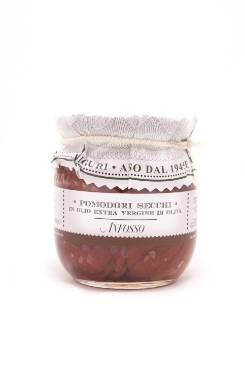 pomodori secchi in olio 180gr