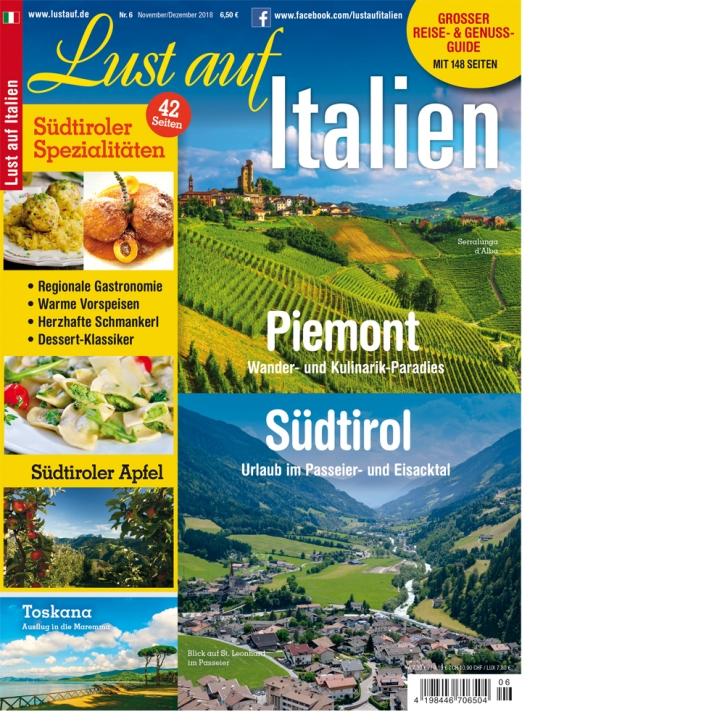 Lust auf Italien - Piemont, Südtirol