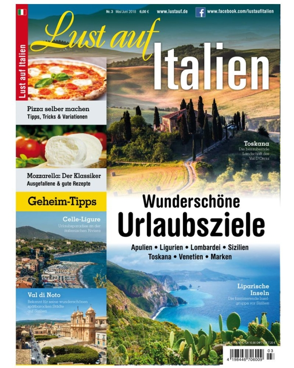 Lust auf Italien - Urlaubsziele