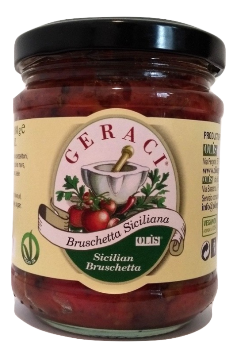 bruschetta siciliana 212ml