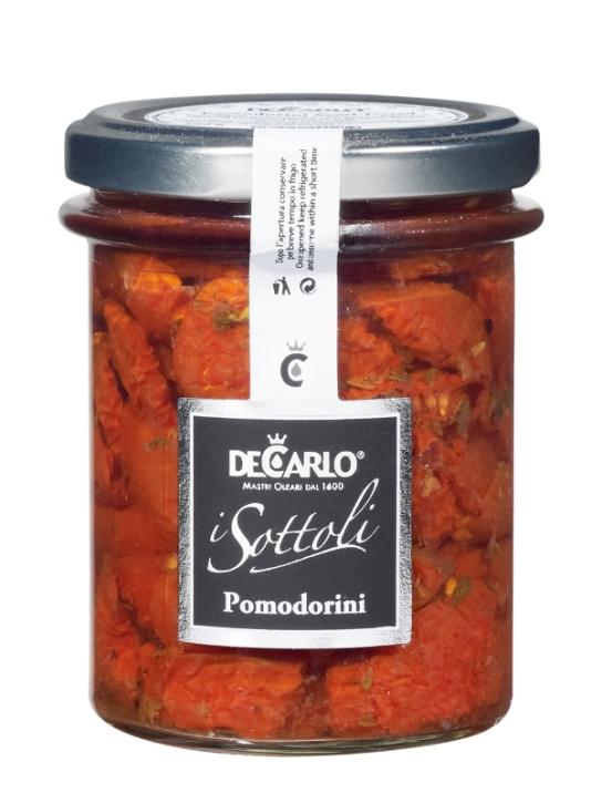 pomodorini in olio semi secchi 190gr