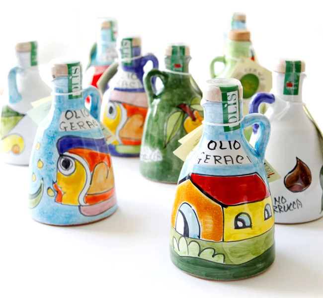 olio evo Nocellara in ceramica 250ml
