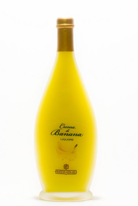 crema di banana - liquore 500ml