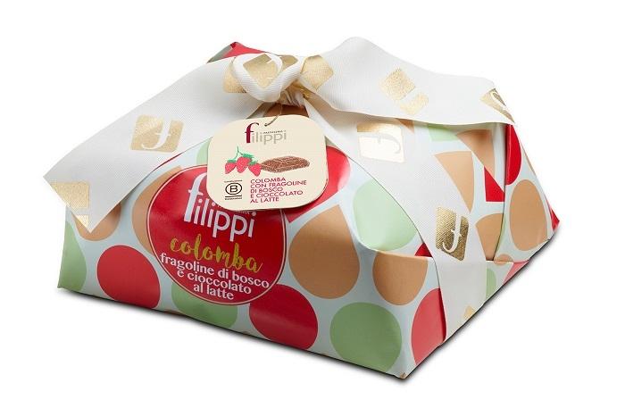 colomba fragoline e cioccolato 750g