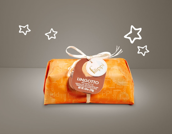 lingotto con arancia 250g