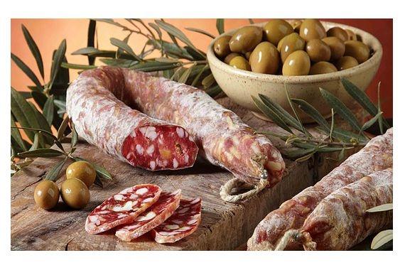 salsiccia con olive