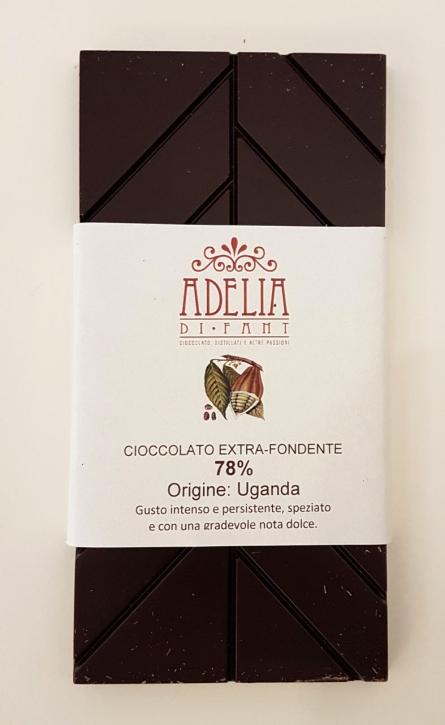 tavoletta cioccolato Uganda 85g