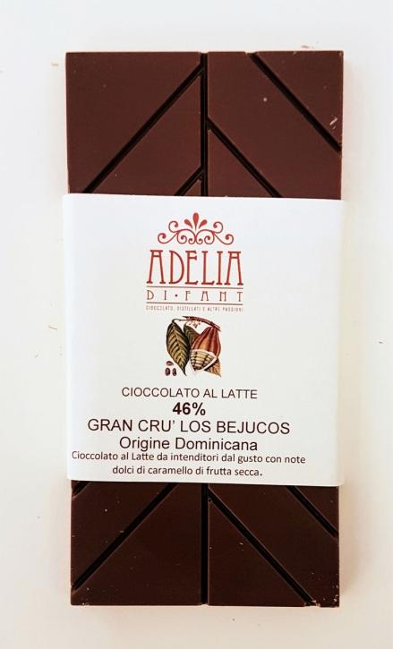 tavoletta latte Gran Cru Los Bejucos 85g