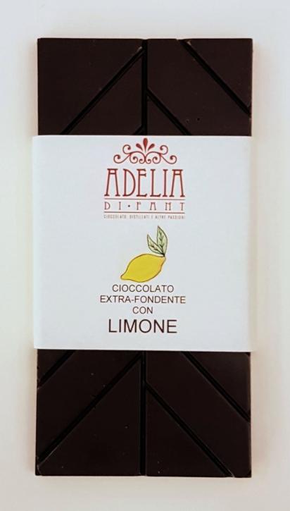 tavoletta cioccolato limone 100g