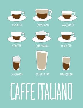 canovaccio - caffè italiano