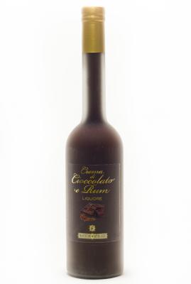 crema di cioccolato e rum - liquore 500ml