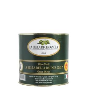 olive verdi DOP 3000ml