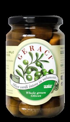 olive Nocellara verdi intere 200g