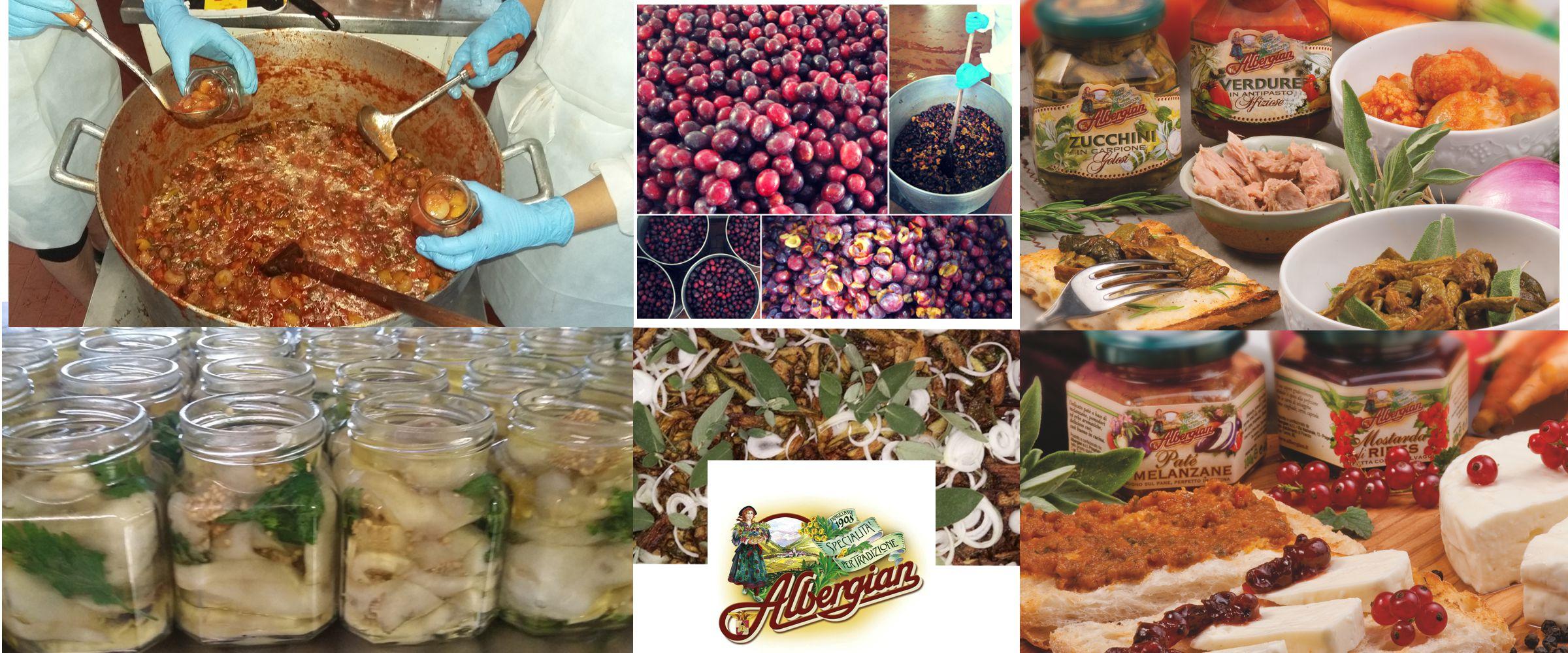 Produktion und Produkte Albergian
