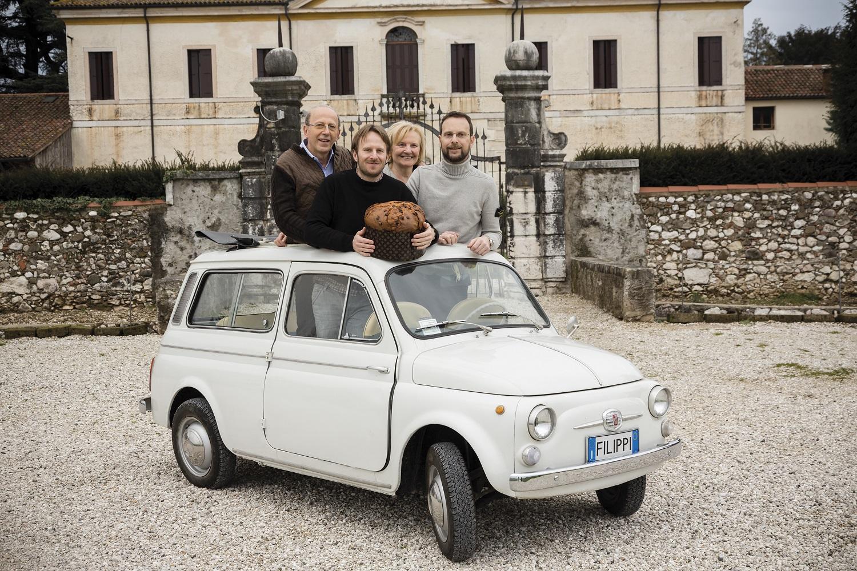 Maria, Giuliano, Andrea und Lorenzo Filippi